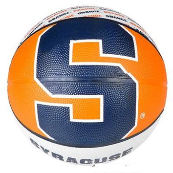 "9.5"" SYRACUSE ORANGEMEN REGULATION BASKETBALL"