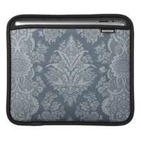 Lacy Vintage - Antique Teal Green iPad Sleeves