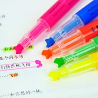 Kokuyo Beetle Tip 3way Highlighter Pen - Pink