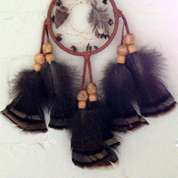 Earth Song Native American Natural Brown Dream Catcher
