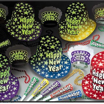 New Year Glow Party Kit - Assorted - CASE OF 1