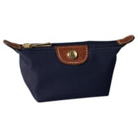 Coin purse - Le Pliage - Small leather goods - Longchamp - Navy - Longchamp United-States