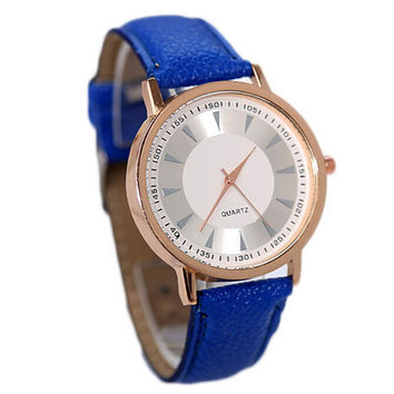 Womens Girls Vintage Sport Casual Leather Strap Watch Christmas Gift