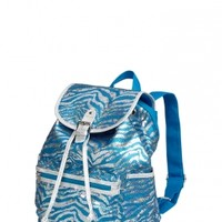 Small Sequin Zebra Rucksack | Girls Fashion Bags & Totes Accessories | Shop Justice