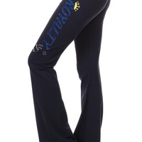 Royalty Glitter Infused Yoga Pants