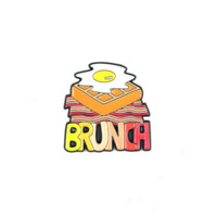 Brunch Lapel Pin