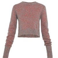 MOLDED SWEATER WITH BACK LACING