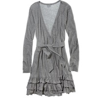 Aerie Ruffle Robe | Aerie for American Eagle