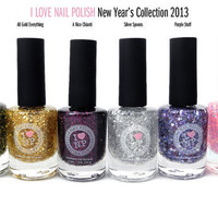I Love Nail Polish - 6 Piece New Year's Collection