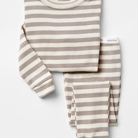Gap Baby Organic Stripe Sleep Set