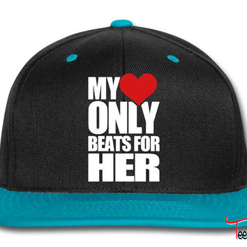 My Heart only beats for her Snapback