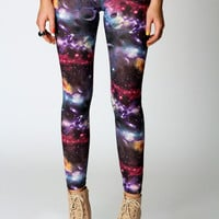 Rachel Galaxy Print Leggings