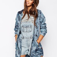 Bellfield | Bellfield Floral Rain Mac at ASOS