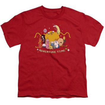 Adventure Time Outstretched Youth T Shirt