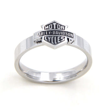 1pcs Fashion Stainless Steel harley Men Male Rings Cool Finger wedding Bands Ring