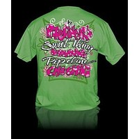 Sweet Thing Funny Pipeliner Wife Girlfriend Girly Bright T Shirt