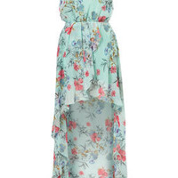 Chiffon Asymmetric Maxi Dress by Love** - Brands at Topshop - Dresses - Clothing - Topshop
