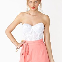 Pixie Scalloped Shorts