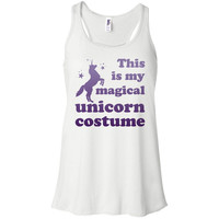 Magical Unicorn Costume Tank Top Racerback