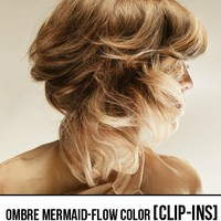 MERMAID-FLOW OMBRE & COLOR [CLIP-IN]