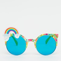 Spangled Rainbow Brow Wow Sunglasses