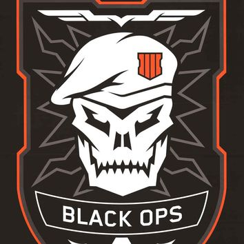 Call of Duty Black Ops 4 Video Game Logo Poster 22x34