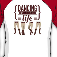 Dancing Through Life - Wicked  Baseball ¾ Sleeve