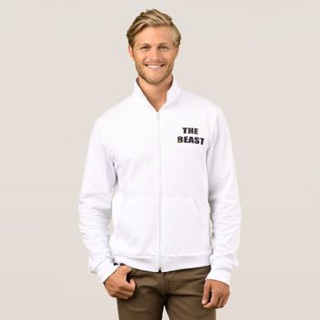 The Beast Men's American Apparel Zip Jogge Jacket