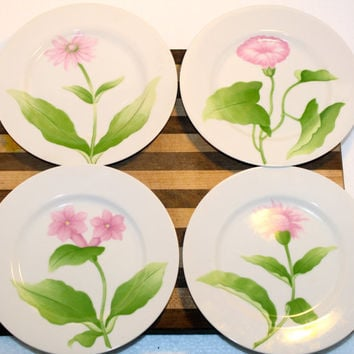 Fitz and Floyd Vintage Fleurs Matinales Plates