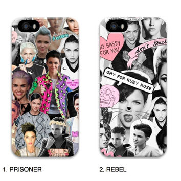 Ruby Rose Orange Is The New Black #TeamOrgane Phone Cases - Grunge Kawaii OITNB Cheap Tumblr Amazing