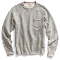 Classic Pocket Sweatshirt in Grey Heather