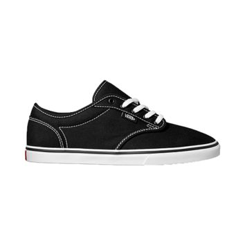 Vans Women's Atwood Low Skate Shoes - Black/White