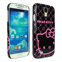 Hello Kitty Polycarbonate Case for Samsung Galaxy S4 - Pink Neon