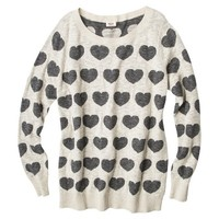 Mossimo Supply Co. Women's Plus-Size Long-Sleeve Sweater - Assorted Prints