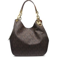 Fulton Large Logo Shoulder Bag | Michael Kors