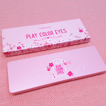 PLAY COLOR EYES 10-color Summer Ice-cream Eye Shadow [11686938447]
