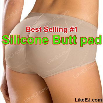Hot #1 Silicone Buttocks Pads Butt Enhancer body Shaper Panty Tummy Control Girdle