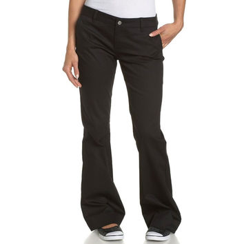 Dickies Girl - H1011 Boot Cut Mid Rise Bull Pant