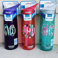 Lilly Pulitzer Camelbak Monogrammed Water Bottle