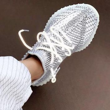 Adidas Yeezy 350 V2 Boots Static Hot Sale Women Men Casual Sport Gym Shoes Sneakers