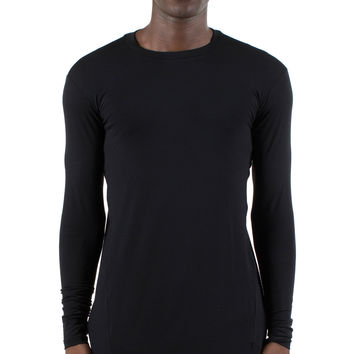 LONG SLEEVE TWISTED T-SHIRT