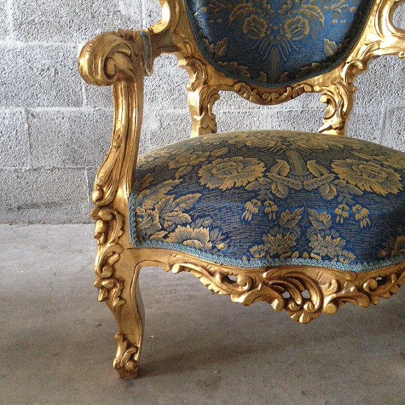 Antique italian rococo french louis xvi from for Antique baroque furniture