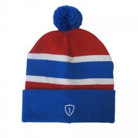 Adrenaline Lacrosse Voyager Knit Hat - Red/Blue | Lacrosse Unlimited
