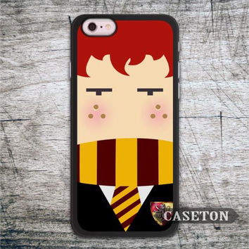 Ron Weasley Harry Potter Case For iPhone 7 6 6s Plus 5 5s SE 5c 4 4s and For iPod 5 Lovely Funny Protective Cover