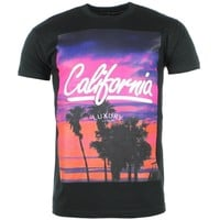 Tee Shirt Luxury Lovers California Noir - LaBoutiqueOfficielle.com