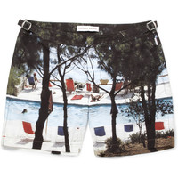 PRODUCT - Orlebar Brown - Bulldog Mid-Length Printed Swim Shorts - 395006 | MR PORTER