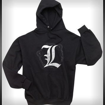 L Sacred Geometry Death note Light Unisex Pullover Hoodie