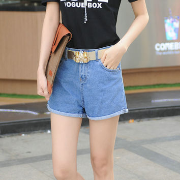 Summer Denim Shorts Ladies Jeans [10364119372]