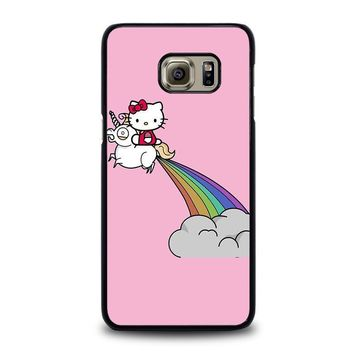 hello kitty unicorn samsung galaxy s6 edge plus case cover  number 1