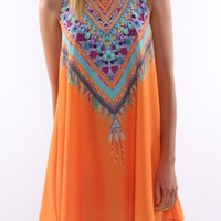 Lakota Dress Orange - Dresses - Shop by Product - Womens